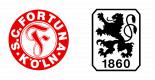 Fortuna Köln vs. TSV 1860 München
